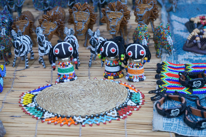 Cute souvenirs for sell , South Africa.