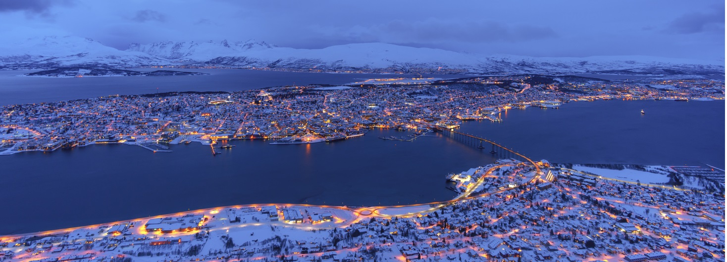 Cityscape view of Tromso