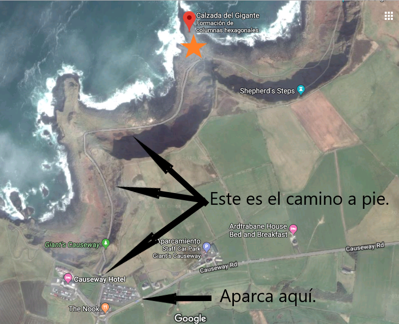 Mapa Calzada