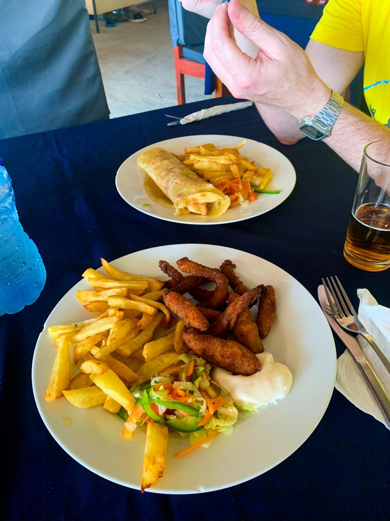Comer en Nungwi