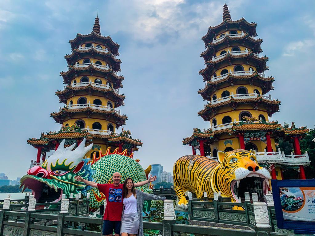 Kaohsiung pagodas